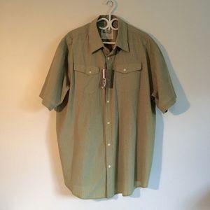 Midtown Short Sleeve Button Up Shirt NWT 2XL